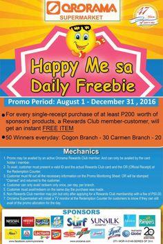 Ororama Supercenter Free Items, I Am Happy, At Least, Health, Food, Im Happy, Health Care, Essen, Meals