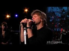 Bon Jovi, Hallelujah.  Probably the most beautiful song and singing EVER !!!!