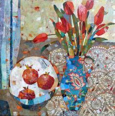 Sally Anne|Fitter : Pomegranates and Tulips