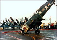 F4U Corsair VMF-323 Death Rattlers Korea 1951 5x7 Photo