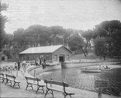 Embarcadero y lago de la Casa de Campo, 1932. José Corral y Moreno. Hemeroteca Municipal.
