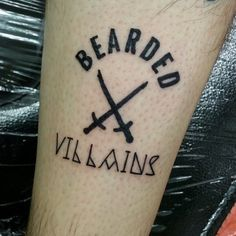 Loyalty.@gaz180 a loyal's member of @beardedvillains and active member of @beardedvillainsuk Rocking some very special Ink.  The brotherhood is rising this isn't an IG thing this is a real life thing!! Salute to all @beardedvillains world wide.  ⚔ΒΣΛЯDΣD VILLΛΙИS UK⚔ #beardedvillain #beardvillains #beardedvillainsuk #brotherhood #ink #theredcoatsarecoming