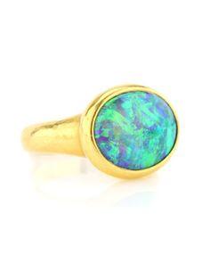 black opal rings   Darlene de Sedle Black Opal Ring