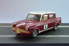 Ford Anglia Broadspeed Saloon Slot Car by GTurner models Slot Car Racing, Slot Car Tracks, Slot Cars, Race Cars, Scalextric Cars, Ford Anglia, Old Fords, Unique Cars, Automotive Art