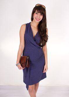 Umstands -& Stillkleid Joline in jeansblau von AgnesH.  Umstandskleidung und Stillkleidung auf DaWanda.com