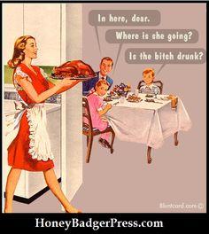 Is the bitch drunk? ahahahaha!