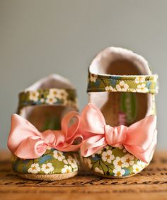 Love this Liberty of London Mitsi Bow Mary Jane on #zulily! #zulilyfinds