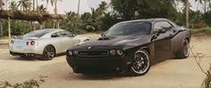 Dodge challenger from fast and furious followed by nissan gtr :) future car challenger .srt8