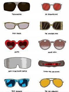 Los lentes más famosos del cine, ¿cuántos reconoces?