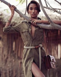 GARMENT:  Anais Mali by Nathaniel Goldberg  for Harpers BazaarUS March 2015. The Model has a grace of a wild cat.