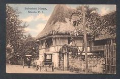 Philippine suburb a while back Filipino Architecture, Philippine Architecture, Filipino House, Philippines Culture, Filipino Culture, Architecture Background, Filipiniana, Interesting Photos, Pinoy