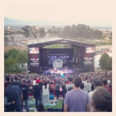 Verizon Wireless Amphitheatre in Irvine, CA Oddball Tour with Dave in 2013. Arguably the best party ever. Jesus, Kevin Hart, Jenni, Me? I mean c'mon and they had free tacos. The ride home however...