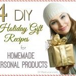 DIY Christmas Gifts 2: Homemade Beauty Products!