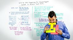 It is Whiteboard Friday! Today +Rand Fishkin talks about information architecture and explains how you can organize the content of your site to make information architecture help your SEO. You can't miss it!