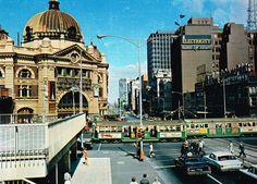 60s Melbourne 3 The Island Continent Australia Late 60s Ol Melbourne Town