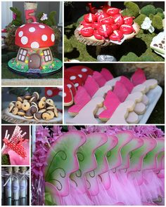 We recently had the opportunity to host a woodland fairy themed birthday party for a very special 5 year old (my daughter!). Molly had ...