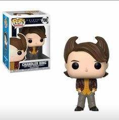 Funko Pop Tv Friends The Tv Series Collectors Set 1 Chandler Bing Hair, Joey Tribbiani In Chandlers Clothes, Ross Geller Funko Pop Dolls, Figurines Funko Pop, Figurine Pop, Chandler Bing, Pop Vinyl Figures, Funko Pop Figures, Chandler Friends, Funk Pop, State Of Decay