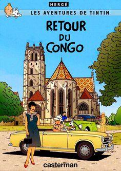 Les Aventures de Tintin - Album Imaginaire - Retour du Congo