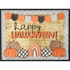 Cafeteria Bulletin Boards, Creative Bulletin Boards, Classroom Bulletin Boards, Classroom Themes, Halloween Kids, Halloween Pumpkins, Halloween Crafts, Halloween Party, Halloween Costumes