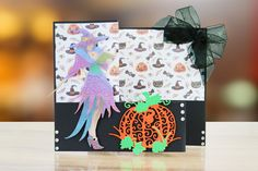 Cast A Spell from the Tattered Lace Halloween 2017 Collection Halloween 2017, Halloween Crafts, Tattered Lace Cards, Lace Design, Wands, Spelling, Witch, Delicate, It Cast