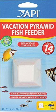 API 14-Day Pyramid Automatic Fish Feeder - http://www.bunnybits.org/api-14-day-pyramid-automatic-fish-feeder/