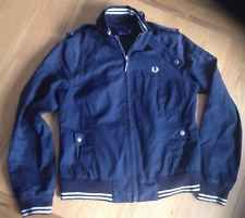 Womens Fred Perry Jacket UK 10 - Navy Blue