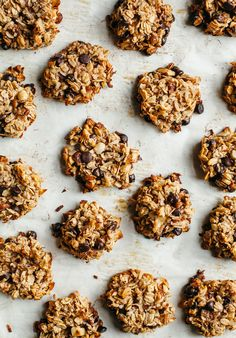 """BANANA CHOCOLATE CHIP BREAKFAST COOKIES FROM """"PANTRY TO PLATE"""""""