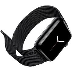 New Milanese Loop Watch Strap For Apple Watch Band 42mm 38mm Silver link bracelet Stainless Steel Woven iwatch watchband buckle