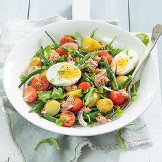 Nicoise Salad, Cobb Salad, Good Food, Yummy Food, Tasty, Healthy Diners, Summer Recipes, Bbq, Salads