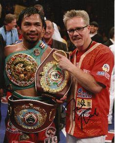 Freddie Roach  & Manny