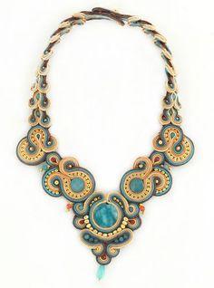 Pretty Handmade Soutache Necklace