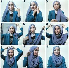 Hijab Tutorial from Sister Zahra