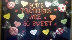 Church Bulletin Board Idea - Sweet!