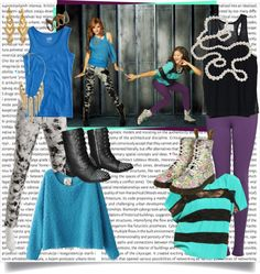 """Shake It Up - Rocky e Cece"" by bellla-zendaya ❤ liked on Polyvore"