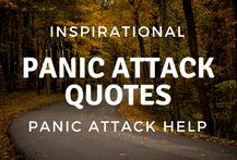 Inspirational Panic Attack Quotes for Panic Attack Help Panic Attack Quotes, Panic Attack Treatment, Understanding Anxiety, Don't Panic, Advice, Inspirational, Inspiration