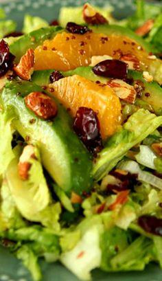 Avocado and Orange Chopped Salad