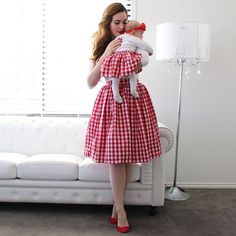 New review is up of these beautiful matching skirts I got for myself and my girlies from @heartsandfound . Link in profile. Click for info on affordability and why they are the best budget matching clothing brand you will find! #pinup #pinupstyle #pinupgirl #retro #melbournepinup #pinupgirlclothing #jailbirdtop #heartsandfound #missbettydoll #retroblogger #pinupblogger