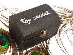 Promotional #Offer! Top Secret Box, Vanity Box, Ring Pillow Wedding, Ring Bearer Box, Wooden Treasure Box, Trinket Box Wood, Gift Secret Jewelry Box for Girl is available at €15.00 https://www.etsy.com/listing/219844433/top-secret-box-vanity-box-ring-pillow?utm_source=socialpilotco&utm_medium=api&utm_campaign=api #jewelry