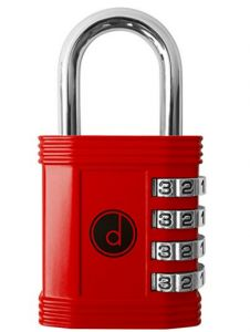Padlock - 4 Digit Combination Lock for Gym