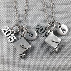 Best friend necklace graduation necklace bff by Toodaughters
