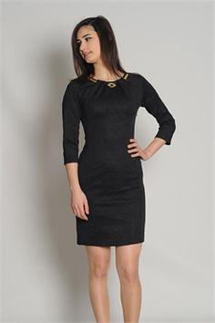 REGART 5565 ELBİSE SİYAH Black, Dresses, Fashion, Vestidos, Moda, Black People, Fashion Styles, Dress, Fashion Illustrations