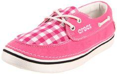 Crocs Women's Hover Gingham Boat Shoe,Hot Pink/Oyster,8 M US Crocs,http://www.amazon.com/dp/B005DCBNYC/ref=cm_sw_r_pi_dp_jnbFtb0AQZGXX7HT