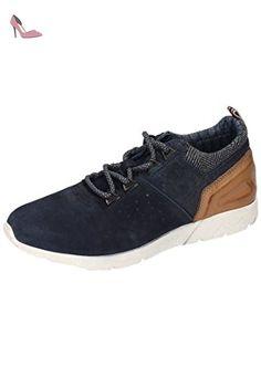 F48026, Sneakers Basses Homme, Noir (Schwarz), 41 EUBugatti