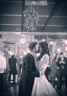 La boda navideña de Bea y David