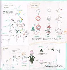 Kawaii Boll Point Pen Illustration Japanese by JapanLovelyCrafts