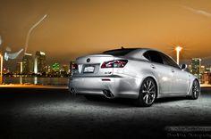 Silver Lexus IS-F  San Diego, Ca