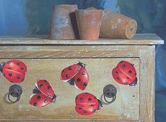 Looking at ladybug decorations, you can't help being fascinated by a ladybug's delicate beauty and spotted appearance.