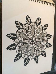 #zentangle #circles #doodle #art