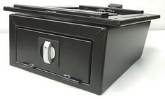 T4Life. VW camper van - Swivel base with Safe Box for either passenger or driver's side