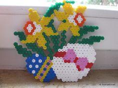 Easter Flowers (petuniad) Tags: easter beads ostern hama perler pärlplattor hamabeads perlerbeads strijkkralen bügelperlen buegelperlen